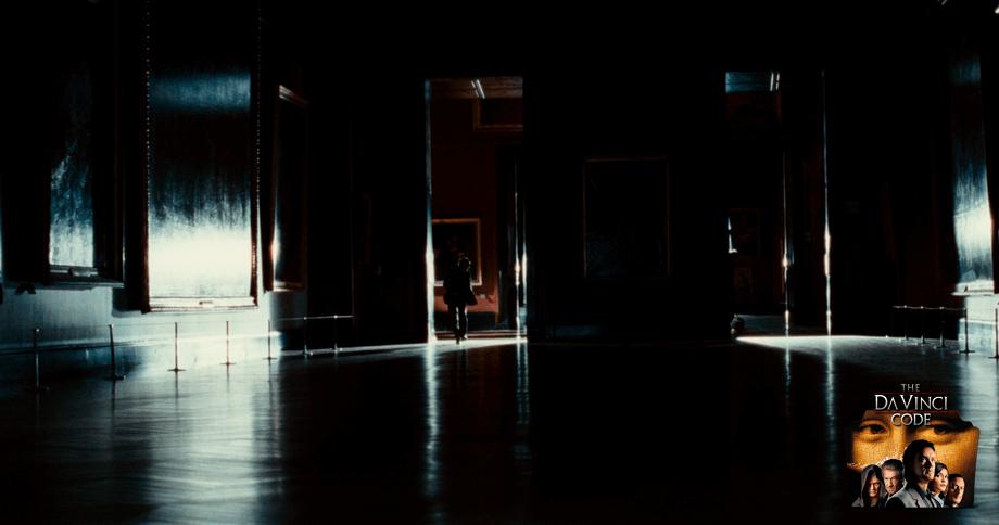 THE LOUVRE scenes and Da vinci Code movie