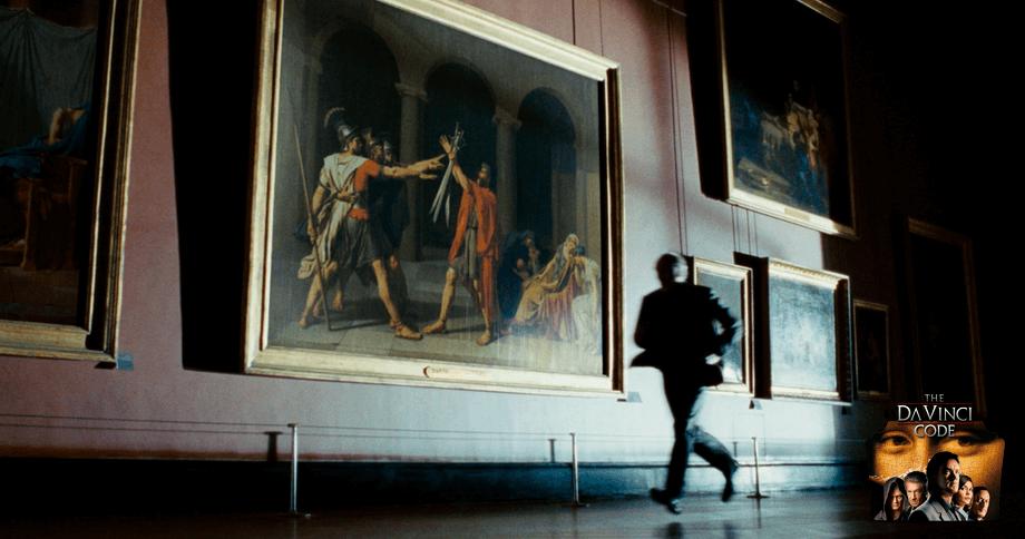 The Da vinci Code paris tour: Louvre museum