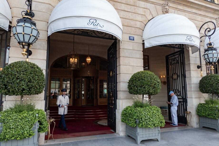 Hotel Ritz in Paris