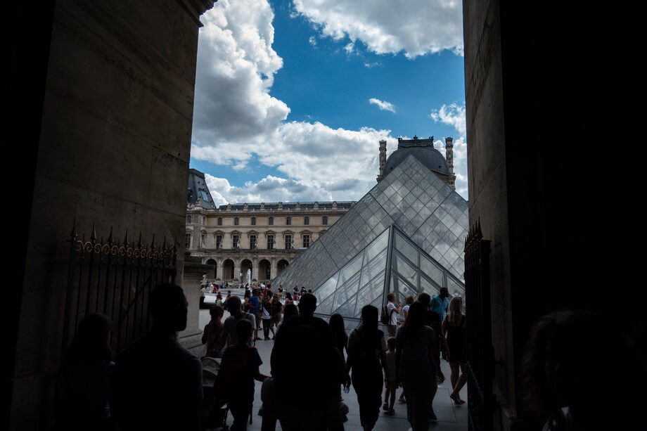 The louvre Piramide