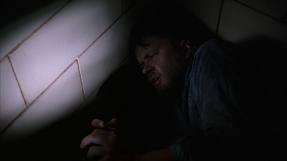 Andy Dufresne in a hall