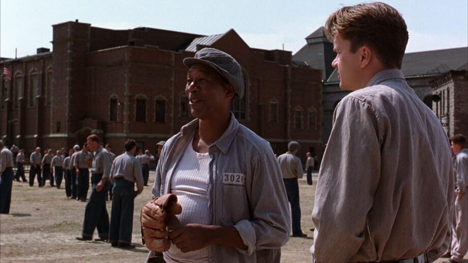 Red and Andy: The Shawshank Redemption cast