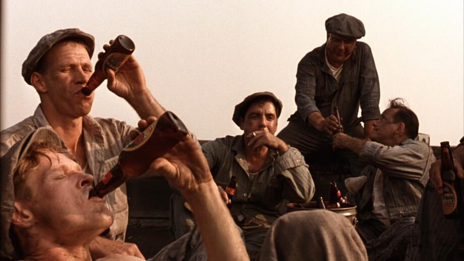 The roof scene analysis: Shawshank redemption