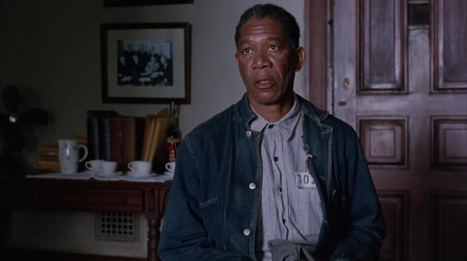 Three interview of RED in Shawshank Redemption
