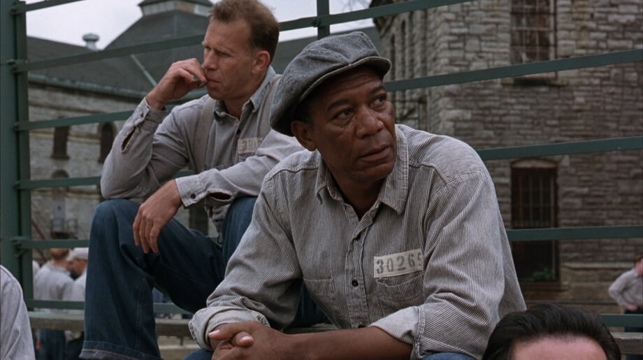 RED character analysis in Shawshank Redemption