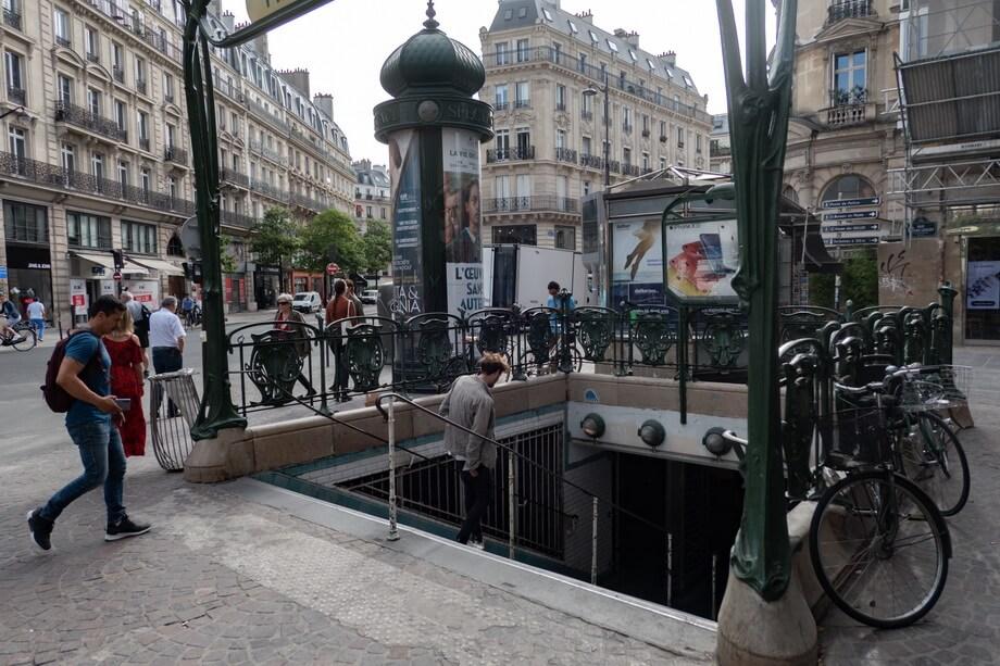 Etienne Marcel metro station Paris