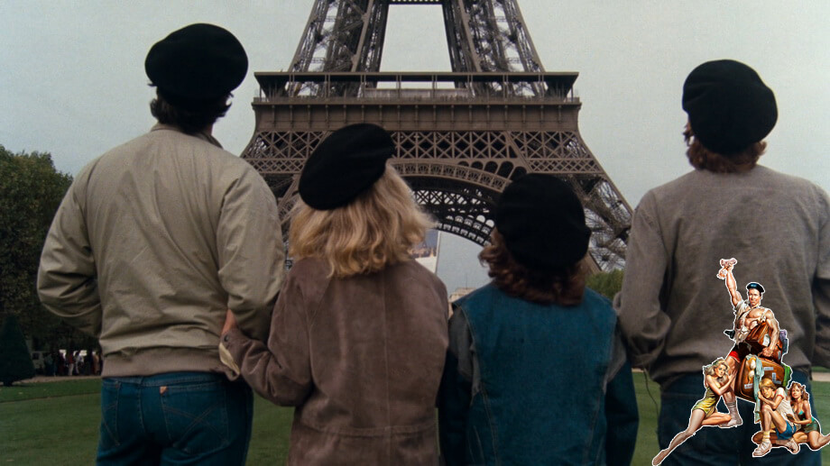 EIFFEL TOWER and Griswalds family