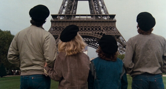 The filming locations of the National Lampoon's 'European vacations' in Paris, France. The movie locations of the Griswold family