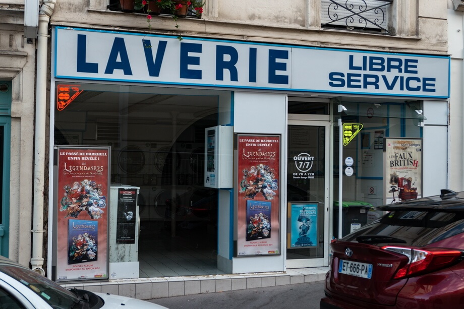 Laverie Libre Service Paris