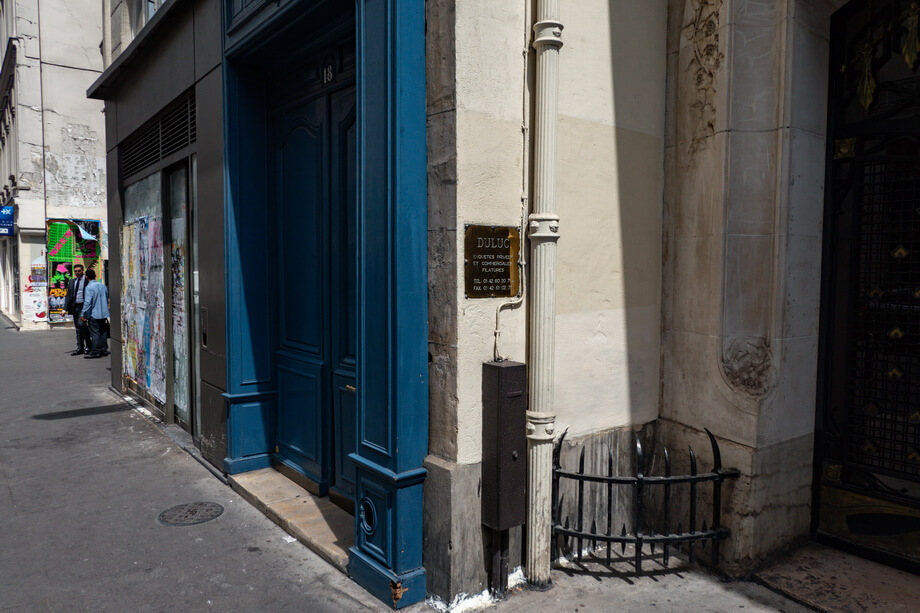 18 rue du Louvre Paris filming locations