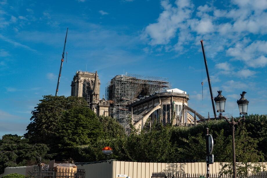 'Square Jean XXIII' Notre Dame de Paris