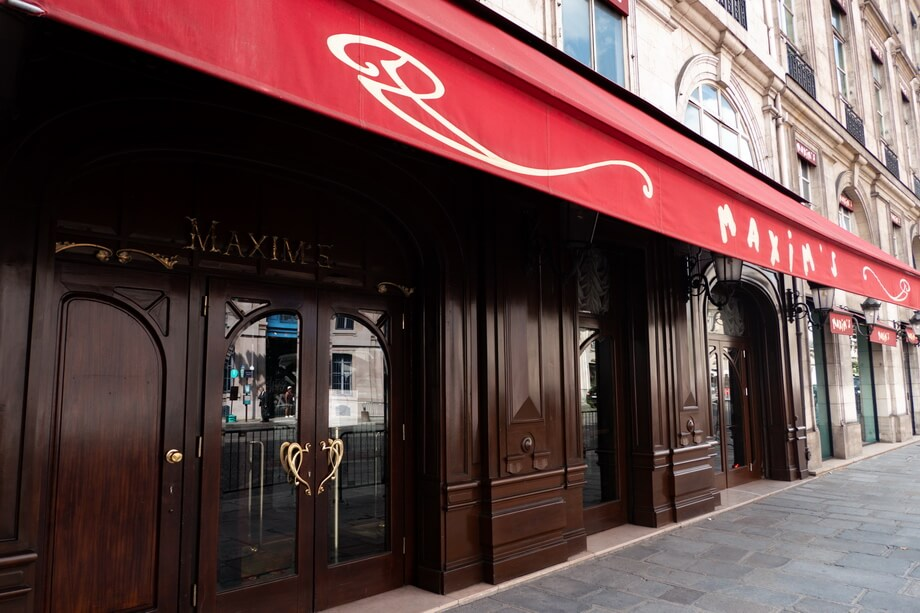 MAXIM'S restaurant, Paris