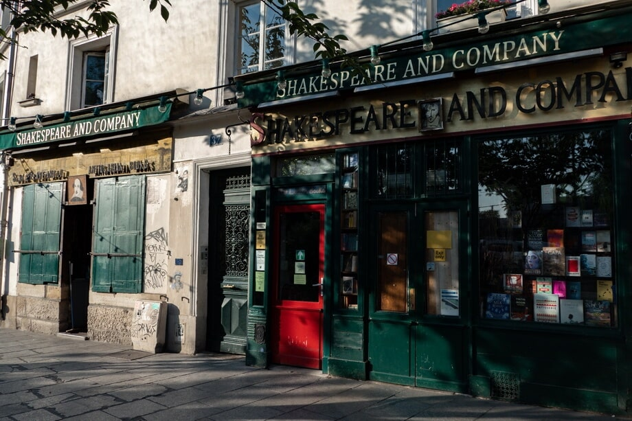 SHAKESPEARE & COMPANY Paris filming locations