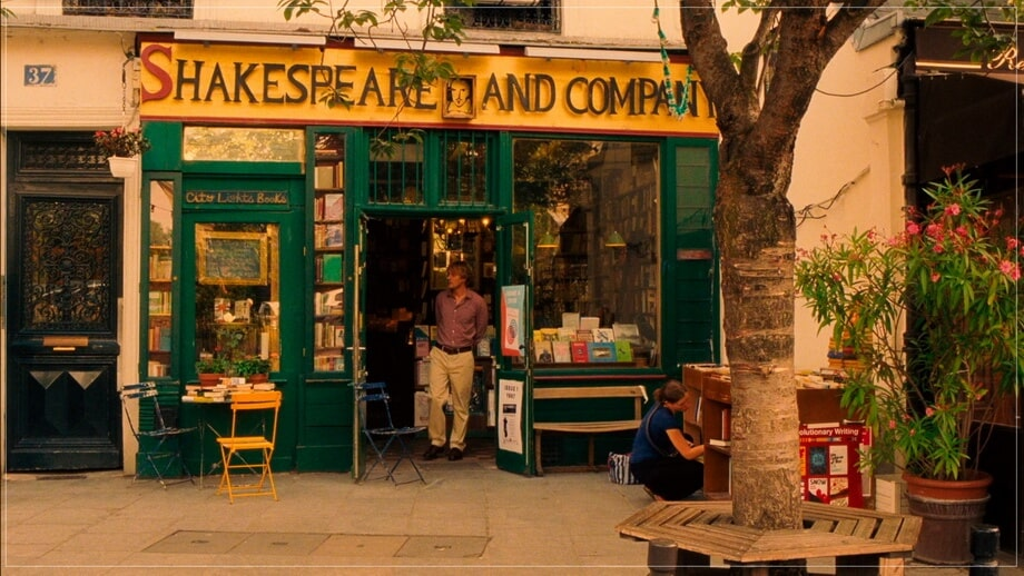 SHAKESPEARE & COMPANY book store
