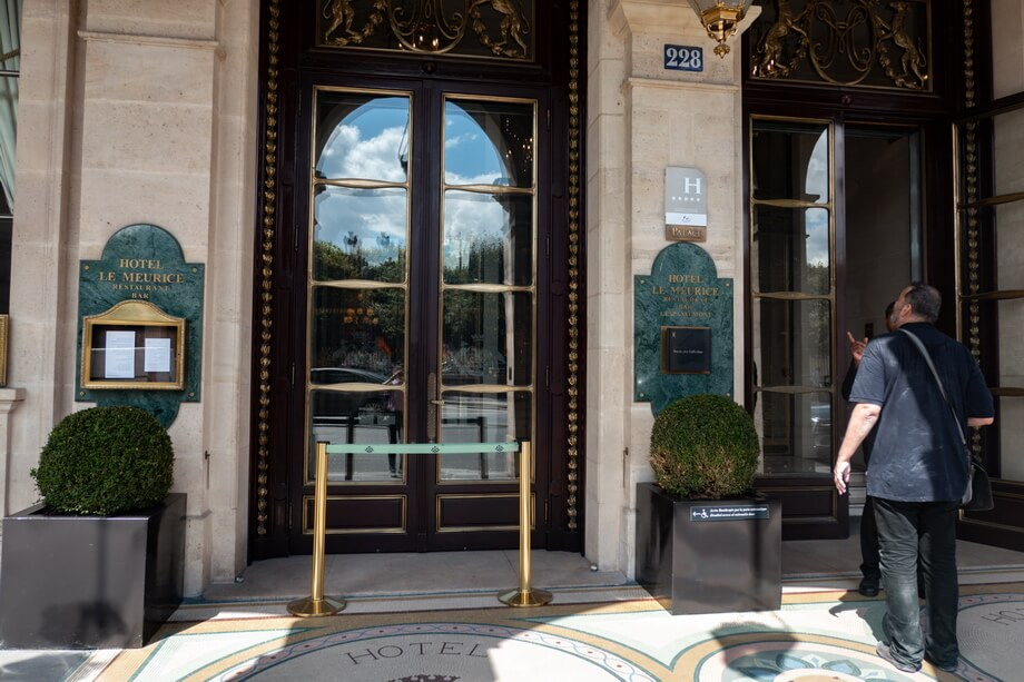 'Hotel Le Meurice' Paris sites