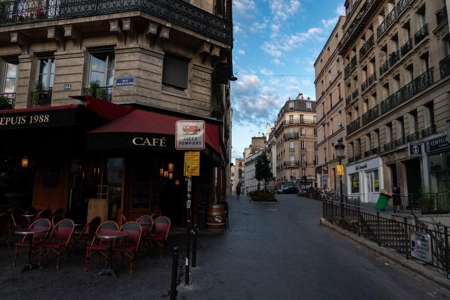 'Rue Edouard Quenu' Paris