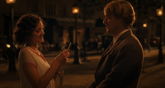 Midnight in Paris locations
