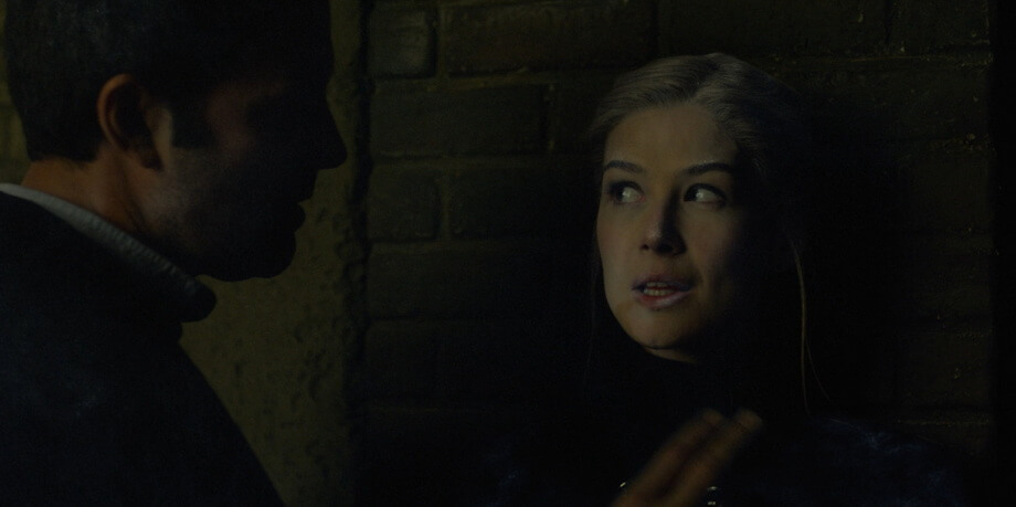 Amy Dunne (Rosamund Pike) The gone girl