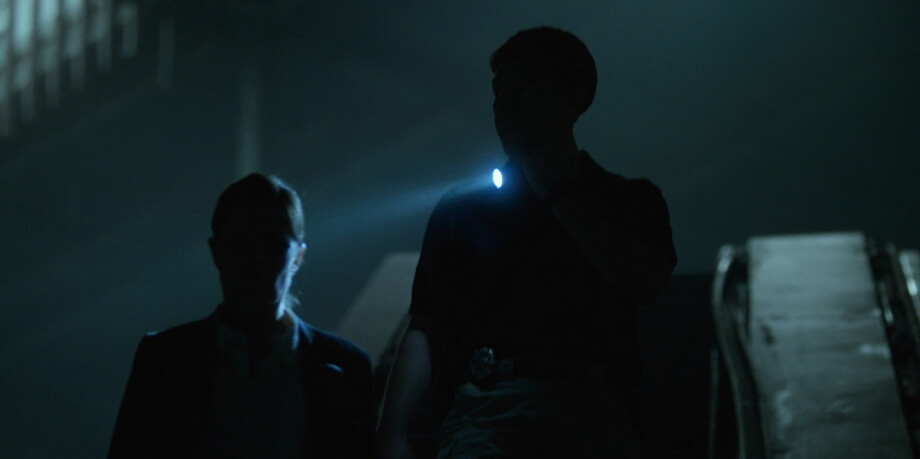 The constricted lighting in the Gone girl