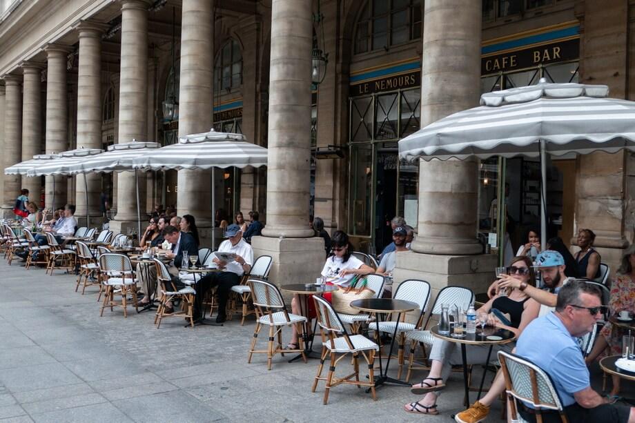 'Le Nemours' cafe today, Place Colette, Paris