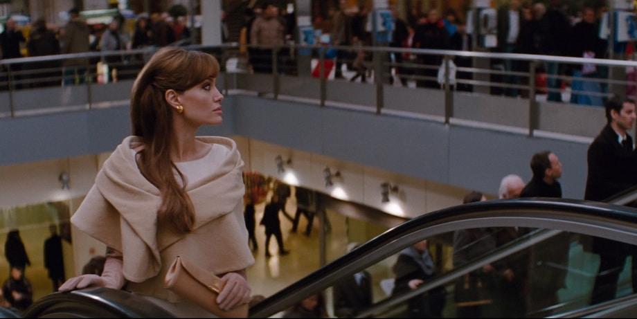 Angelina Jolie as Elice at GARE DE LYON