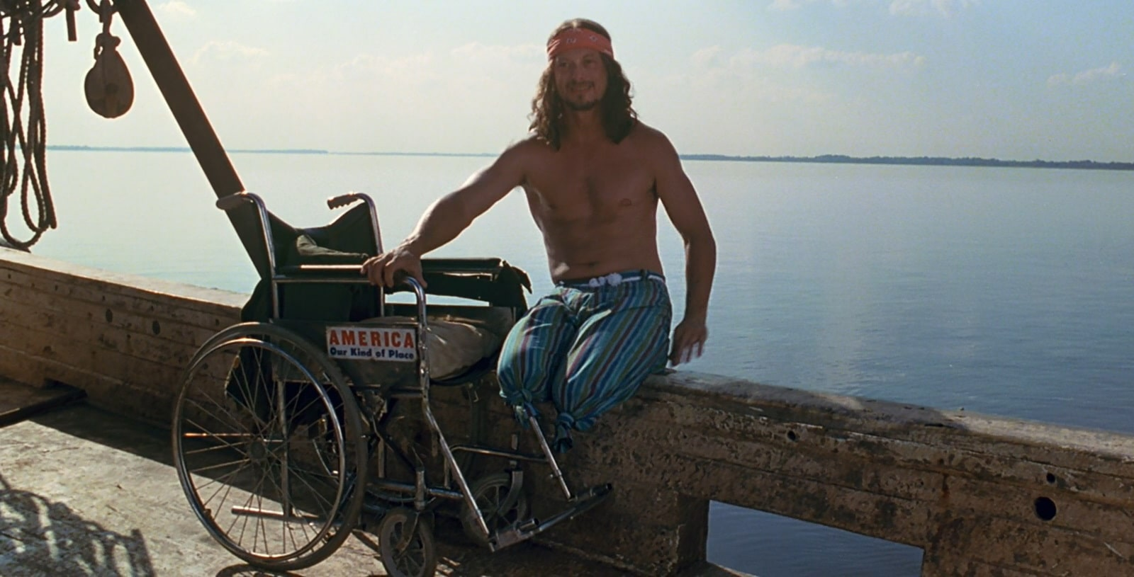 Lieutenant Dan and his settlement with God
