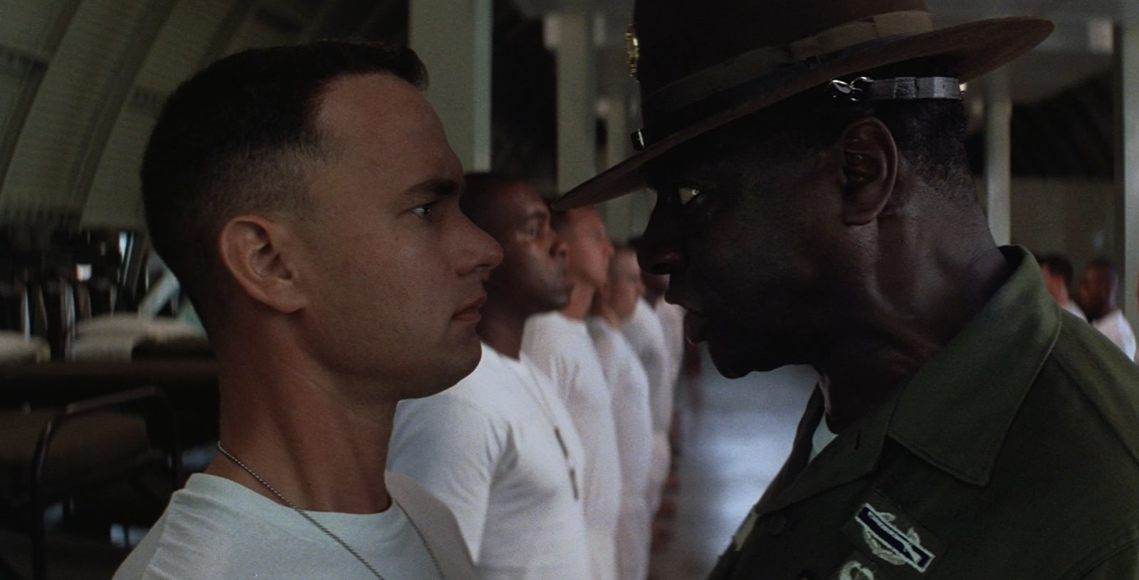 Forrest was always focused on military service as it was.