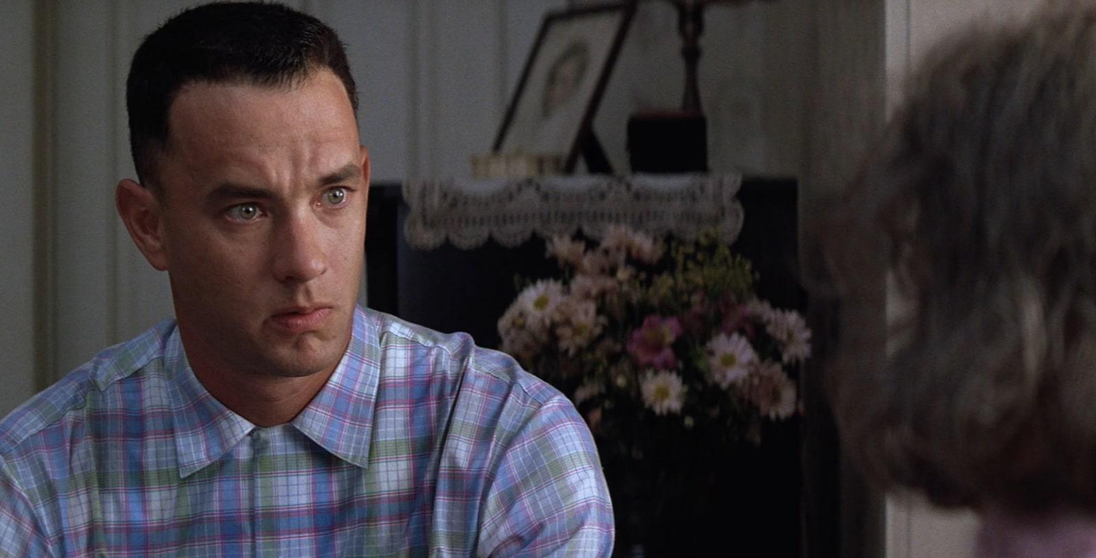 Tim Hanks as Forrest Gump