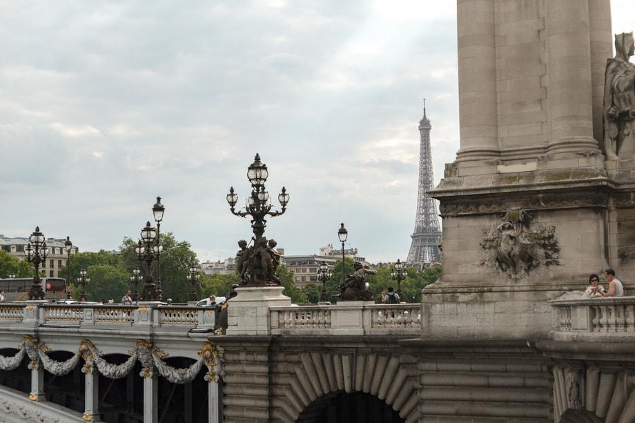 PONT ALEXANDRE III today in Paris
