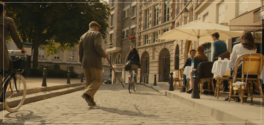 Place Dauphine in Paris: 'Me before you' location