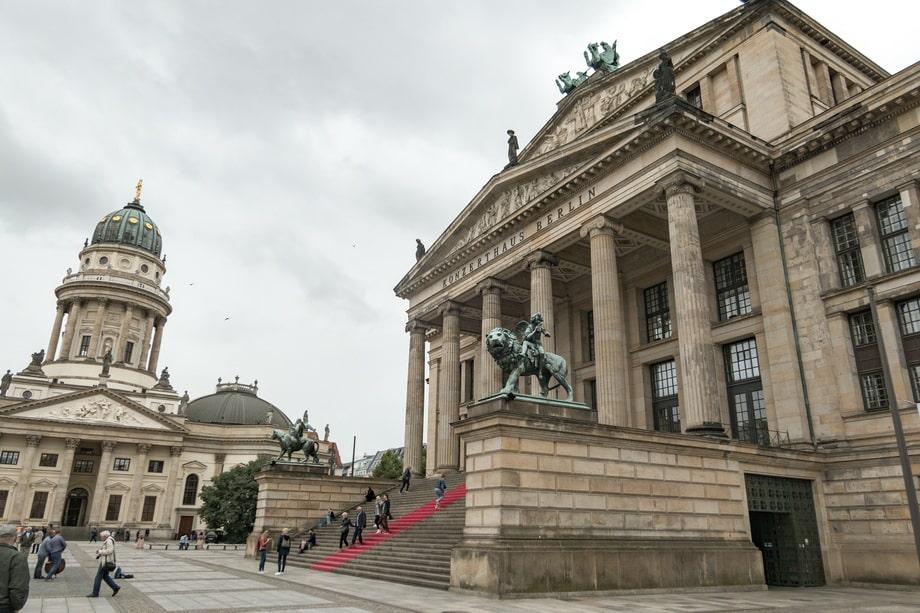 'Gendarmenmarkt' square today