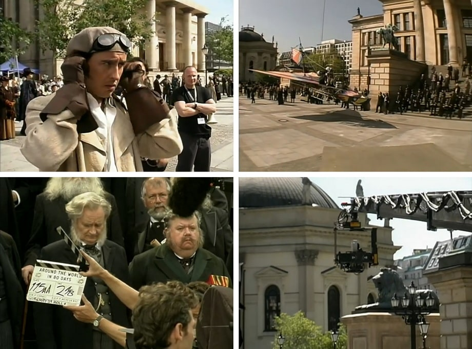 'The Royal Society' and behind the scenes in Berlin 2003