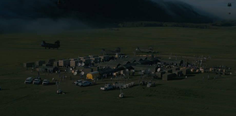 Military camp and the image of army