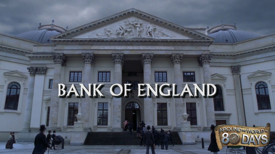 The bank of England, shot in Berlin at the 'Gendarmenmarkt' square