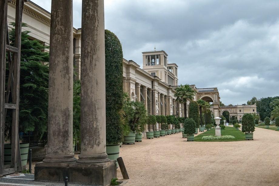 'Orangerieschloss' (Orangery Palace) in Potsdam