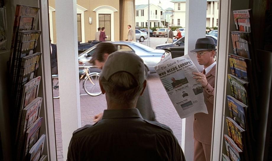 Who needs Europe: The Truman Show