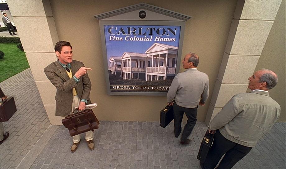 Jim Carrey as Truman Burbank