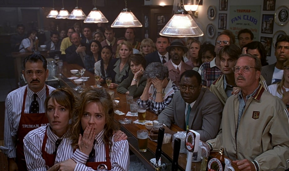 The audience of the Truman show